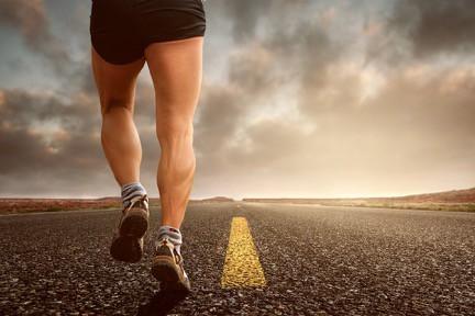 course a pied coureur