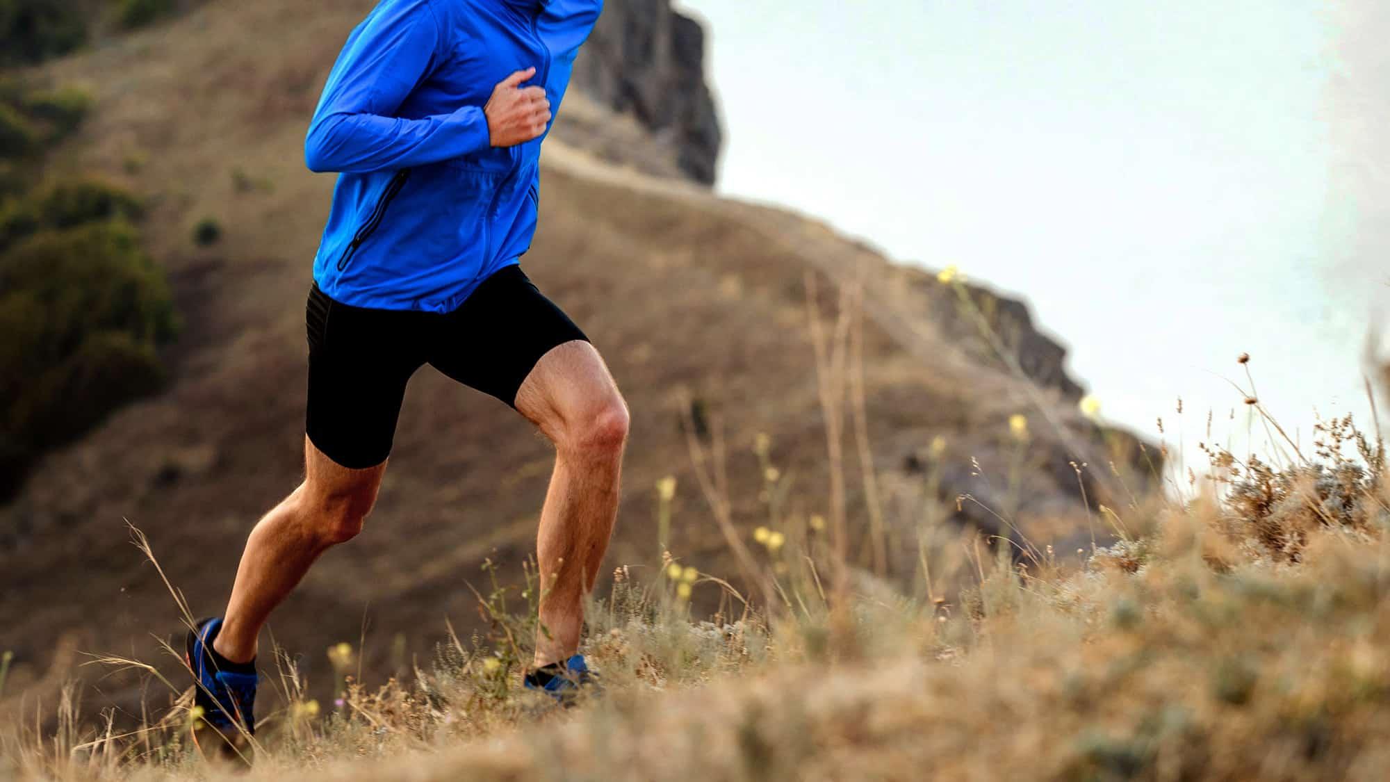 Homme qui fait du jogging